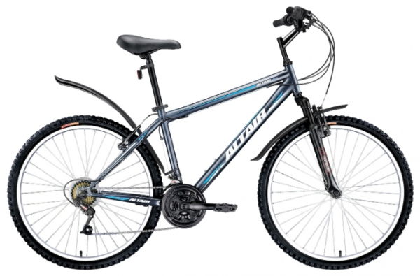 "Велосипед Forward 26"" Altair MTB HT серый 18ск. р.15"""