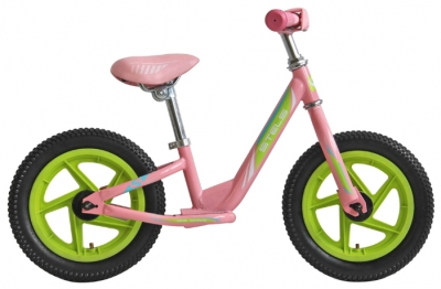 "Беговел Stels 12"" powerkid Girl сиреневый"
