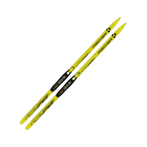 Лыжи беговые Fischer Sprint Crown Yellow JR