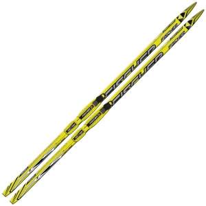 Лыжи беговые Fischer Sprint Crown Yellow Nis JR