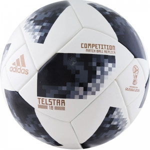 Мяч футбольный Adidas WC2018 Telstar Competition FIFA p.5