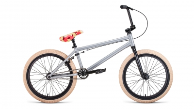 "Велосипед Forward 20"" BMX ZigZag 1-ск серый р.20,5 (2019-2020)"