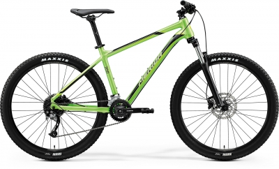 "Велосипед горный Merida 27,5"" Big.Seven 200 GlossyGreen/Black р.17"